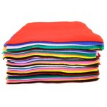 Acrylic Felt Sheets - 50 piece