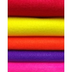 Acrylic Felt Sheets - Circus Pack x 10pc