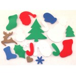 Foam Shapes Christmas