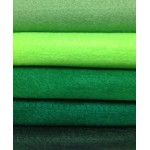 Acrylic Felt Sheets - Forest Pack x 10pc