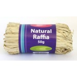 Natural Raffia 50gm Pellot