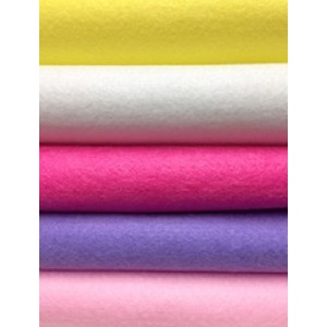 Acrylic Felt Sheets - Princess Pack x 10pc
