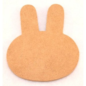 MDF Cutout Large - Bunny