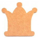 MDF Cutout Large - Crown