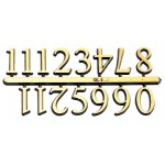 Arabic Clock Numbers
