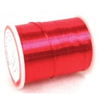 Beading Wire Red