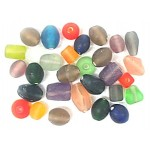 Glass Beads - Frosted Medium Mix