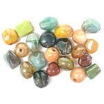 Glass Beads - Lustre 16mm