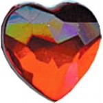 Rhinestones Heart - 06mm