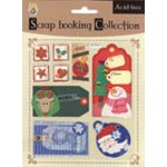 Scrapbooking 3D Christmas Sticker
