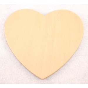 Wooden Cut Outs - Heart